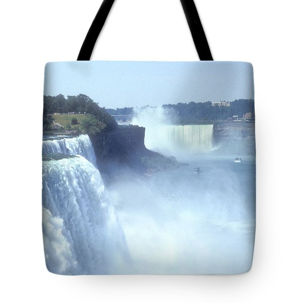 NIAGARA FALLS - New York Tote Bag by Mike McGlothlen