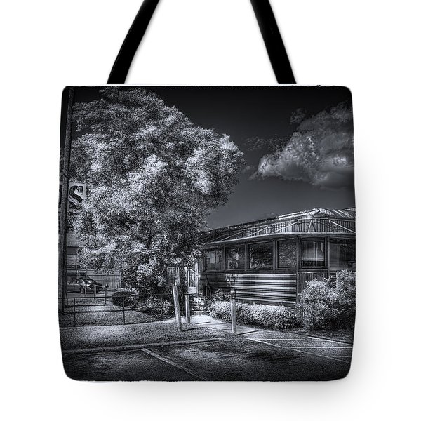Nicko's Restaurant Tote Bag by Marvin Spates
