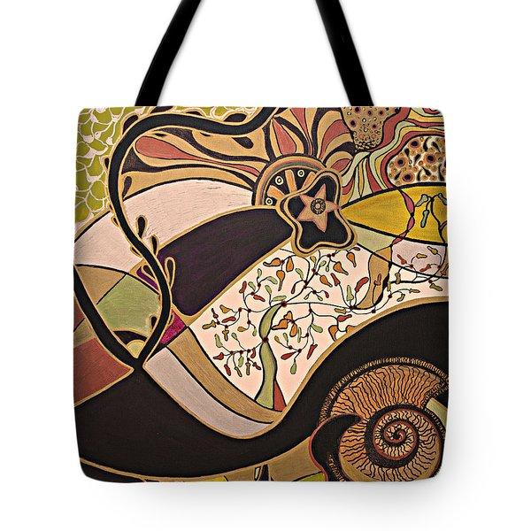 Night And Day.. Tote Bag by Jolanta Anna Karolska