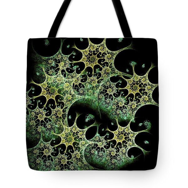 Night Lace Tote Bag by Anastasiya Malakhova