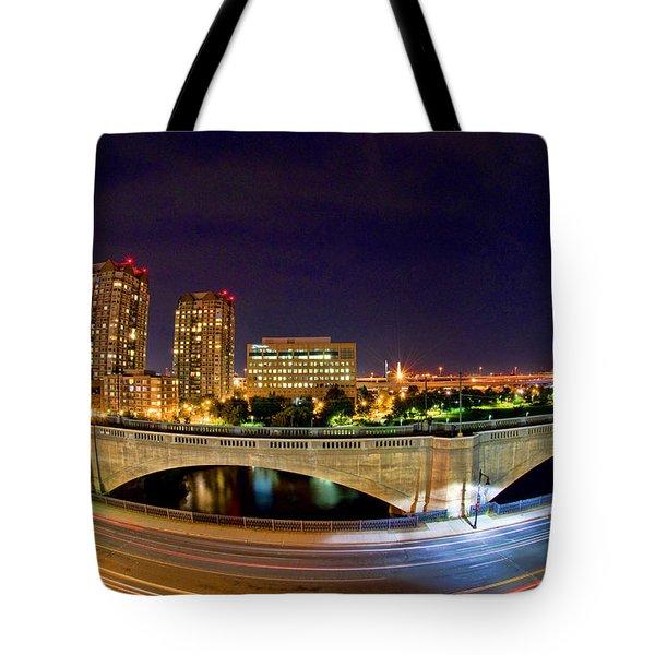 Night Moves 2-Boston Tote Bag by Joann Vitali
