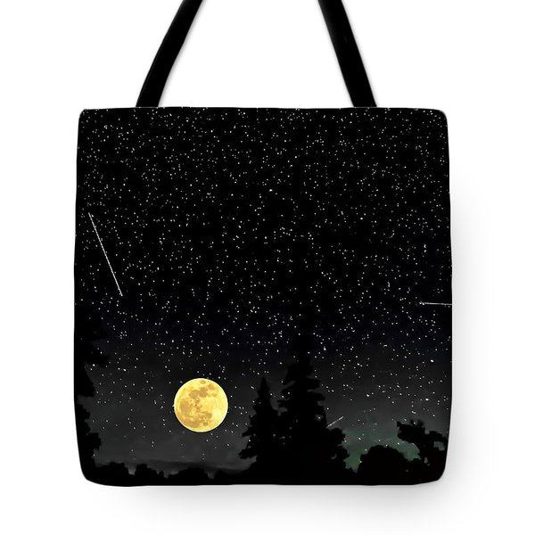 Night Moves Tote Bag by Steve Harrington