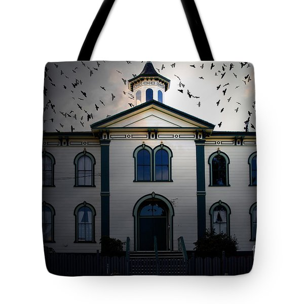 Night of The Birds . 7D12487 Tote Bag by Wingsdomain Art and Photography