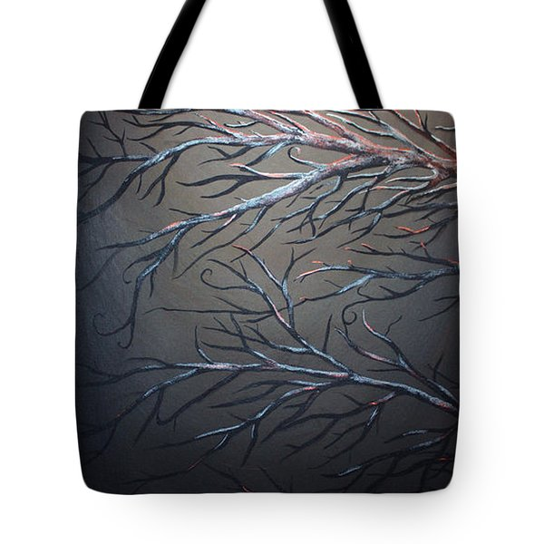 Night Of The Eclipse Panel 1 Tote Bag by Teshia Art