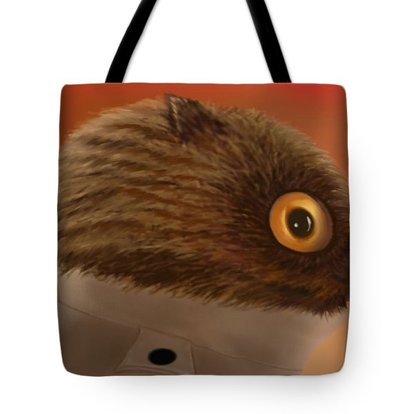 Night Owl Head Tote Bag by Marlene Watson
