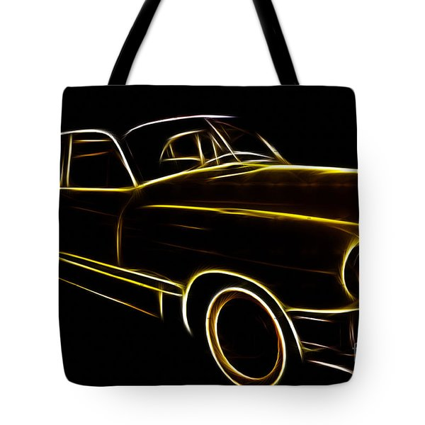 Night Rider Tote Bag by Cheryl Young