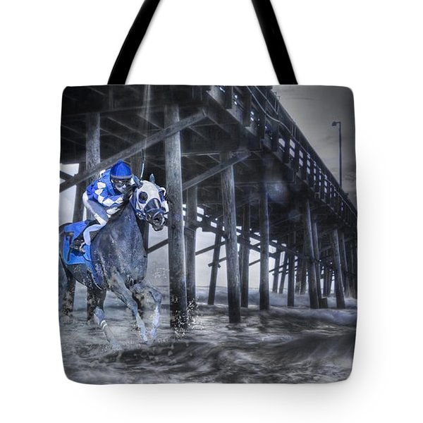 Night Run II Tote Bag by Betsy A  Cutler