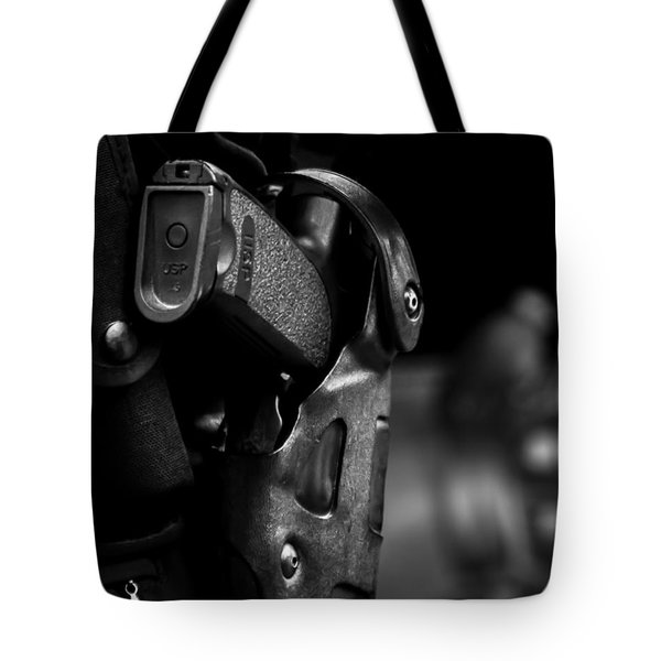 Night Traffic Stop Two Tote Bag by Bob Orsillo