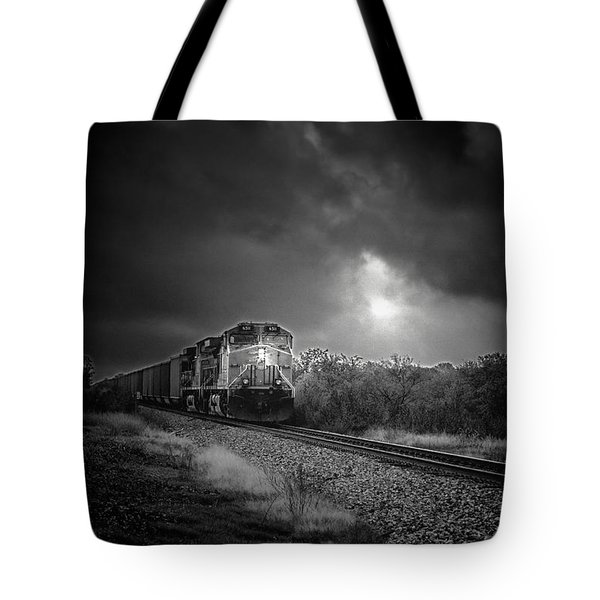 Night Train Tote Bag by Robert Frederick