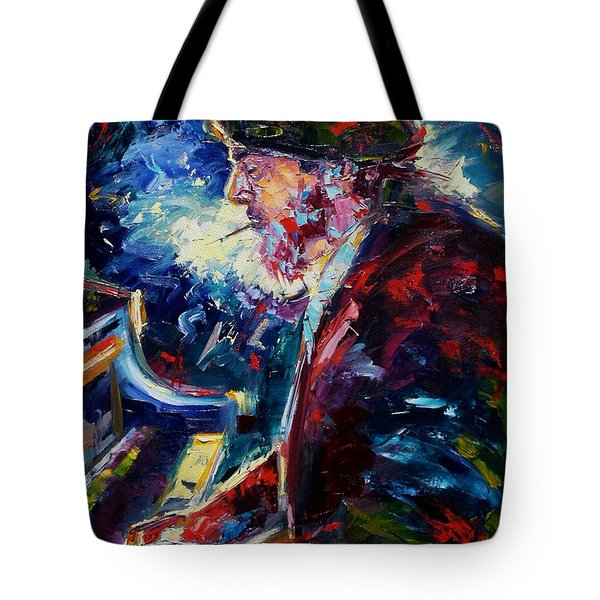 Night Tripper Tote Bag by Debra Hurd