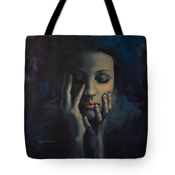 Nights in July Tote Bag by Dorina  Costras