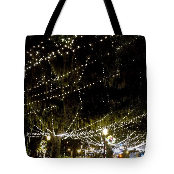 Nights Of Light 2 Tote Bag by Kenneth Albin