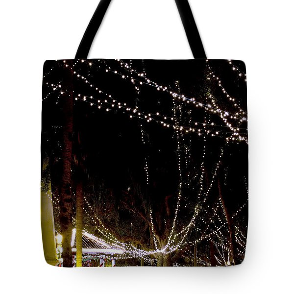 Nights Of Lights Tote Bag by Kenneth Albin
