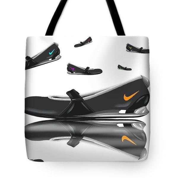 Nike Tote Bag by Veronica Minozzi