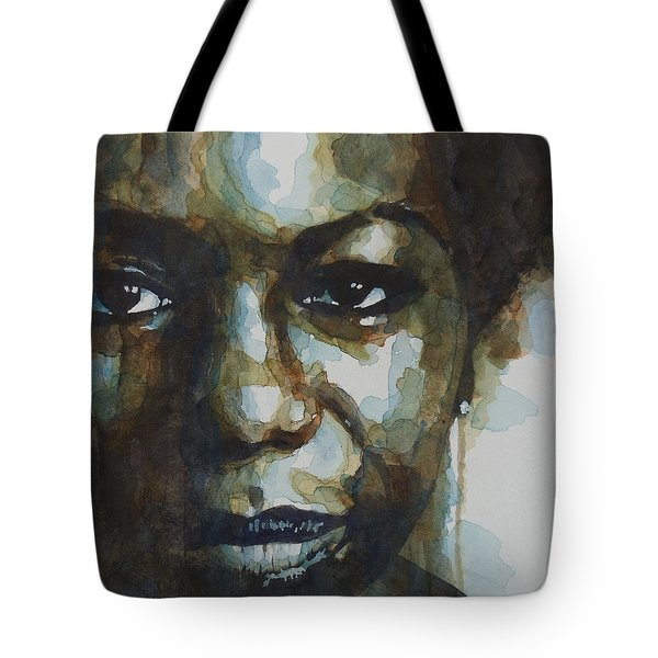 Nina Simone Tote Bag by Paul Lovering