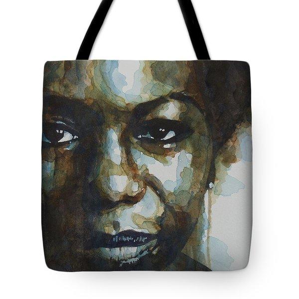 Nina Simone Tote Bag by Paul Lovering