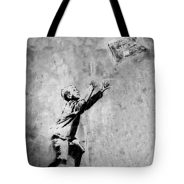 No Ball Games  Tote Bag by A Rey