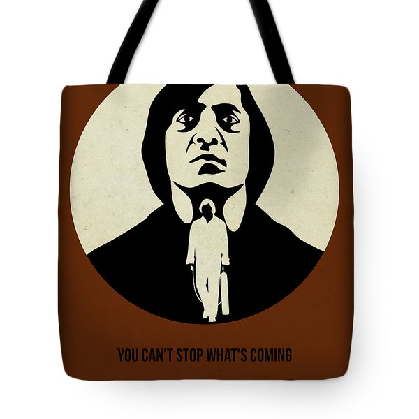No Country For Old Man Poster Tote Bag by Naxart Studio