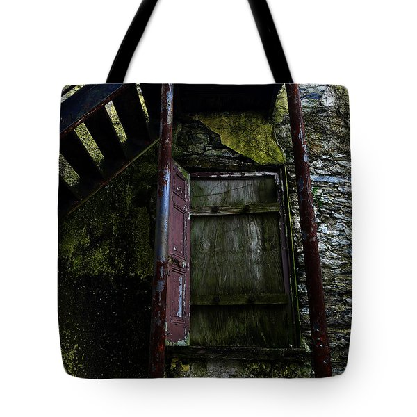 No Entry Tote Bag by Richard Reeve