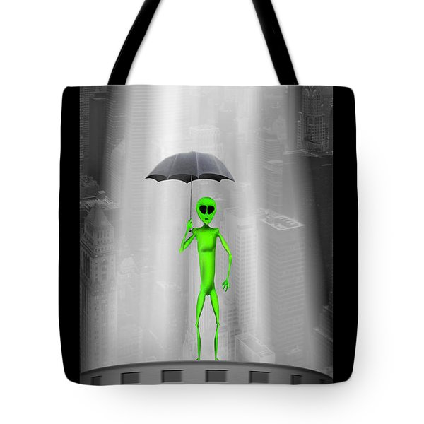 No Intelligent Life Here Tote Bag by Mike McGlothlen