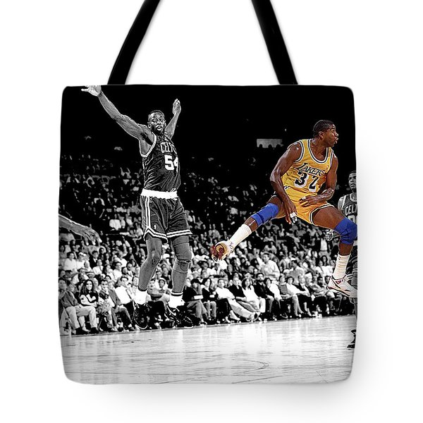 No Look Pass Tote Bag by Brian Reaves