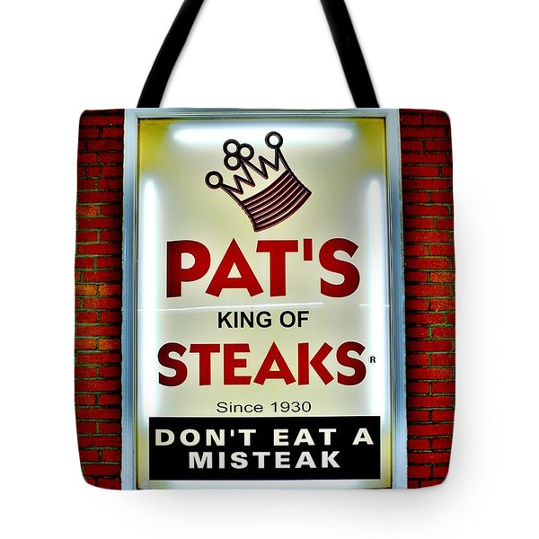 No Misteaks Tote Bag by Benjamin Yeager