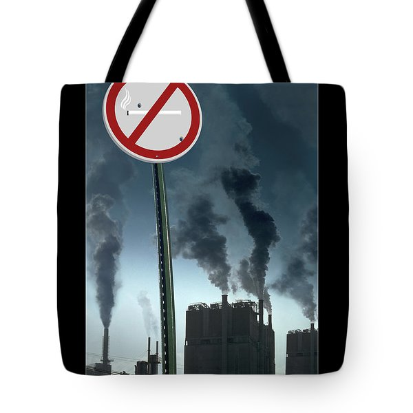 No Smoking Tote Bag by Mike McGlothlen