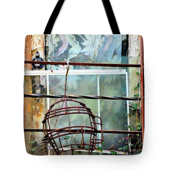 No Telling Tote Bag by Newel Hunter