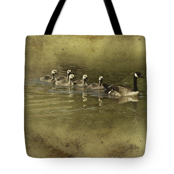 No Time for Stragglers Tote Bag by Diane Schuster