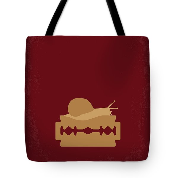 No006 My Apocalypse Now minimal movie poster Tote Bag by Chungkong Art