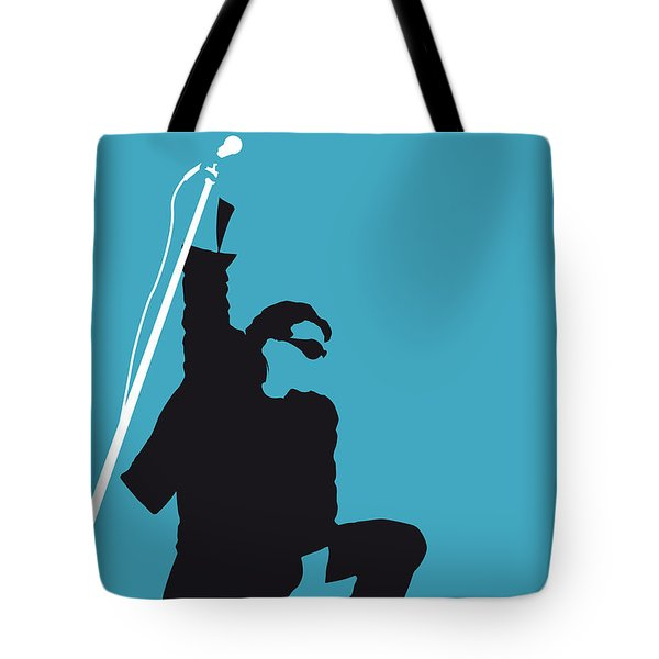 No035 My U2 Minimal Music Poster Tote Bag by Chungkong Art
