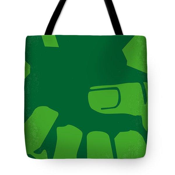 No040 My Hulk Minimal Movie Poster Tote Bag by Chungkong Art