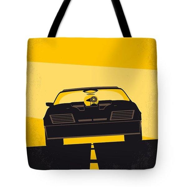 No051 My Mad Max Minimal Movie Poster Tote Bag by Chungkong Art
