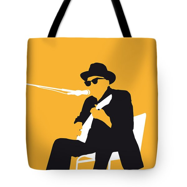 No054 My Johnny Lee Hooker Minimal Music Poster Tote Bag by Chungkong Art
