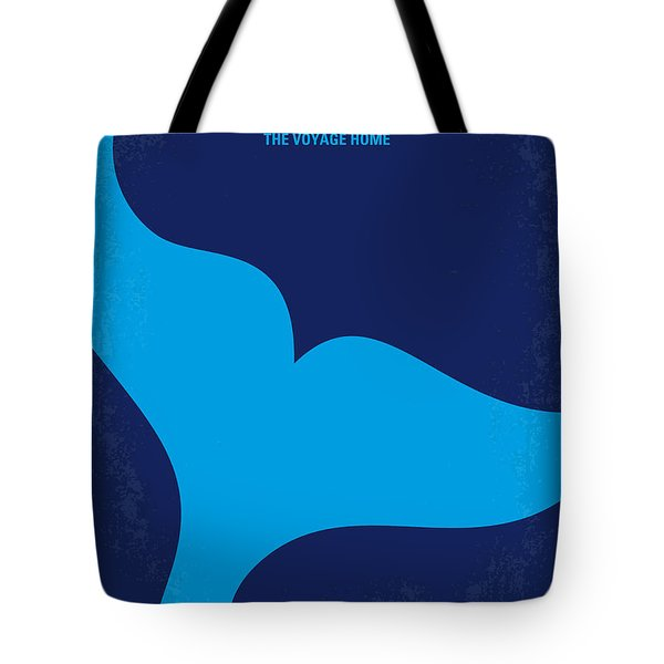 No084 My Star Trek 4 minimal movie poster Tote Bag by Chungkong Art