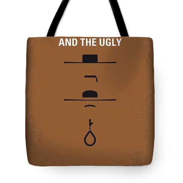 No090 My The Good The Bad The Ugly minimal movie poster Tote Bag by Chungkong Art