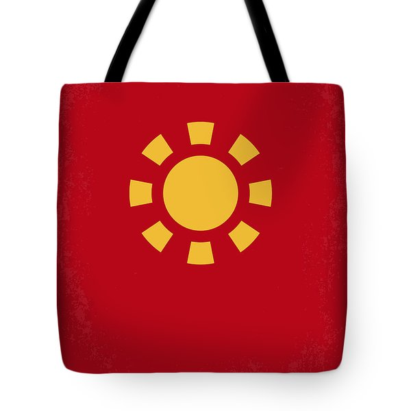 No113 My Iron Man Minimal Movie Poster Tote Bag by Chungkong Art