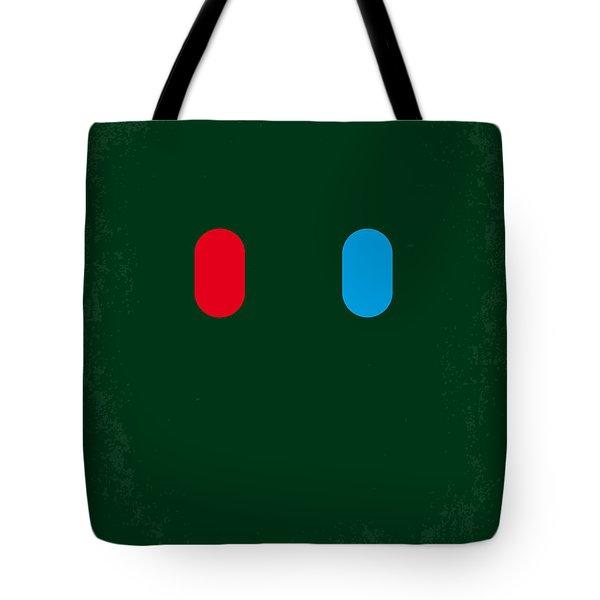No117 My Matrix Minimal Movie Poster Tote Bag by Chungkong Art
