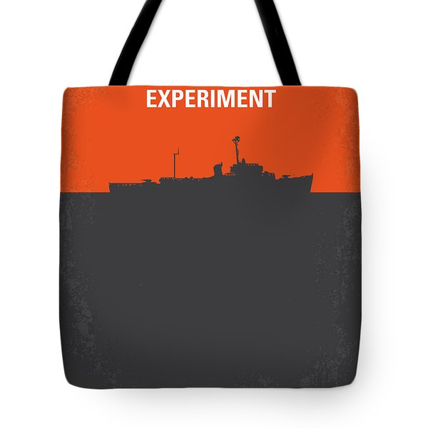 No126 My The Philadelphia Experiment Minimal Movie Poster Tote Bag by Chungkong Art