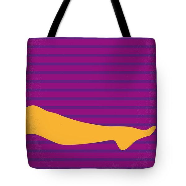 No135 My THE GRADUATE minimal movie poster Tote Bag by Chungkong Art