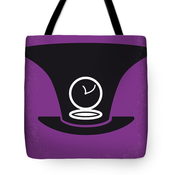 No140 My Alice in Wonderland minimal movie poster Tote Bag by Chungkong Art