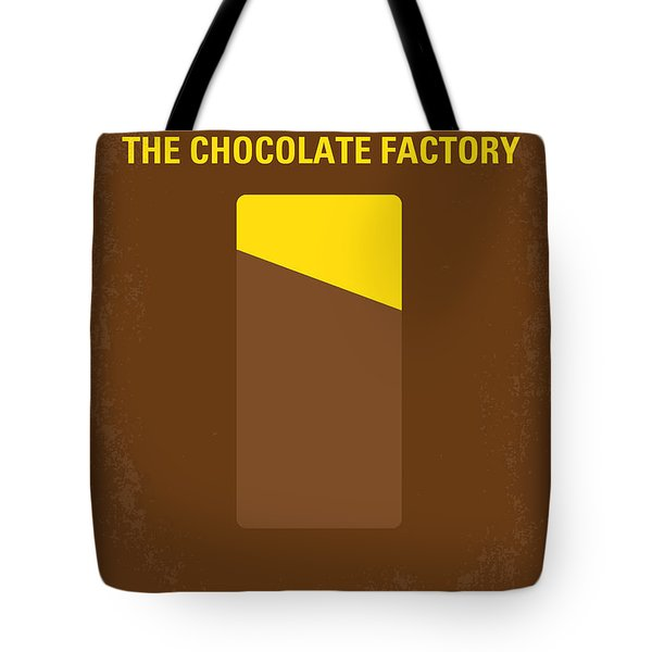 No149 My willy wonka and the chocolate factory minimal movie poster Tote Bag by Chungkong Art