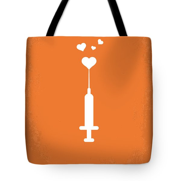 No152 My TRAINSPOTTING minimal movie poster Tote Bag by Chungkong Art