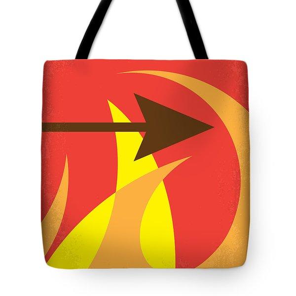 No175 My Hunger Games Minimal Movie Poster Tote Bag by Chungkong Art