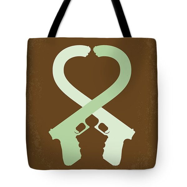 No187 My Mr And Mrs. Smith Minimal Movie Poster Tote Bag by Chungkong Art