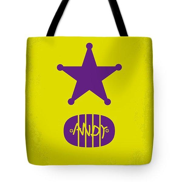 No190 My Toy Story minimal movie poster Tote Bag by Chungkong Art