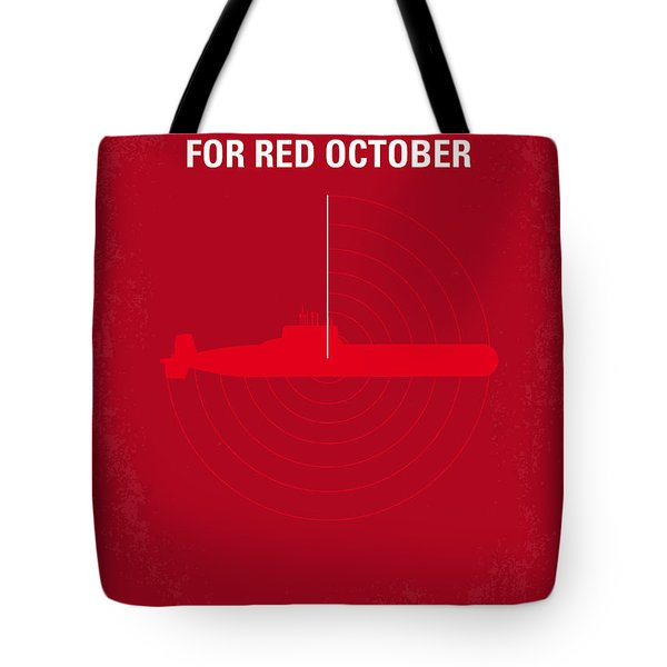 No198 My The Hunt For Red October Minimal Movie Poster Tote Bag by Chungkong Art