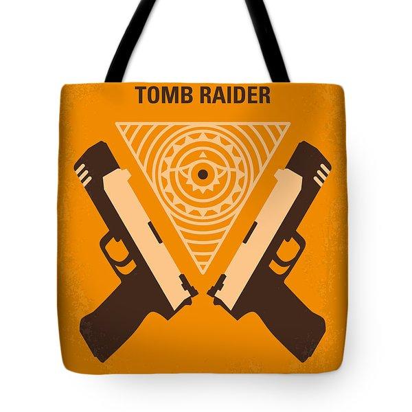 No209 Lara Croft Tomb Raider minimal movie poster Tote Bag by Chungkong Art