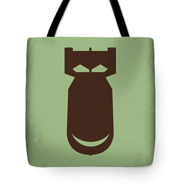No212 My The Dictator minimal movie poster Tote Bag by Chungkong Art