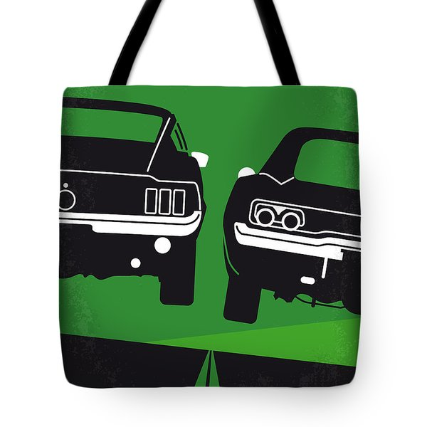 No214 My BULLITT minimal movie poster Tote Bag by Chungkong Art